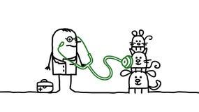 Veterinary royalty free illustration
