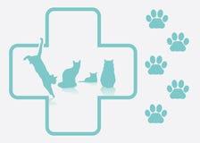 Veterinary background Stock Photo