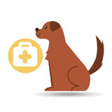 Veterinary clinic concept first aid. Vector illustration eps 10 Royalty Free Stock Photography