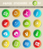 Veterinary clinic icon set. Veterinary clinic  icons for user interface design Royalty Free Stock Images