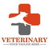 Veterinary clinic logo Stock Photography
