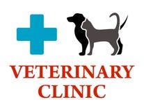 Veterinary clinic symbol Stock Photo