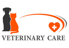 Veterinary sign with place for text Stock Photo