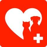 Veterinary sign Stock Photo
