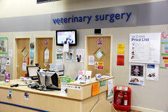 Veterinary surgery Stock Photography