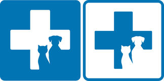 Veterinary symbol Stock Photos