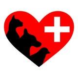Veterinary symbol Royalty Free Stock Image