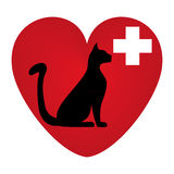 Veterinary symbol Stock Photo