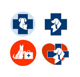 Veterinary symbol for your design Stock Photography