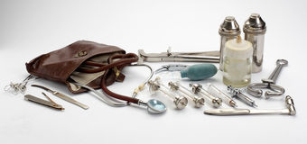 Veterinary tools. Stock Images