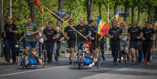 VeteRun ,The War Veterans Run, Bucharest, Romania