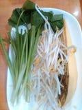 Vetgetable с phad тайским стоковое фото