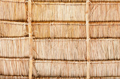 Vetiver Grass Roof detail Royalty Free Stock Photography