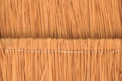 Vetiver Grass Roof. Straw roof. it's nature roof and save world Stock Photography