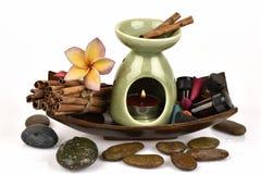 Vetiver spa treatment. Royalty Free Stock Photos