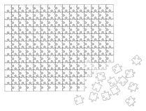 Vetor 01 do enigma Imagens de Stock