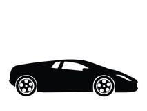 Vetor 7 do carro desportivo ilustração stock