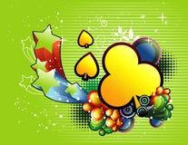 Vetor abstrato abstrato Imagens de Stock