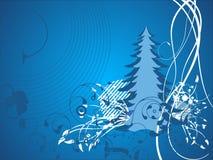 Vetor abstrato da ilustração do Natal Fotografia de Stock