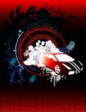 Vetor abstrato do carro ilustração royalty free