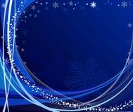 Vetor abstrato do fundo do Natal ilustração stock
