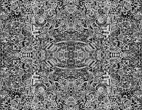 Vetor abstrato intricado sem emenda Imagens de Stock