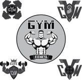 Vetor ajustado: gym Fotos de Stock Royalty Free