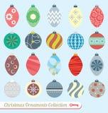 Vetor ajustado: Ornamento do Natal Imagem de Stock Royalty Free