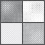 Vetor ajustado: testes padrões geométricos Fotos de Stock Royalty Free