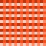 Vetor alaranjado profundo da toalha de mesa Vetor tradicional do teste padrão da toalha de mesa Teste padrão alaranjado profundo  Imagem de Stock Royalty Free