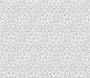Vetor arabic pattern Stock Images