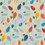 Vetor Autumn Leaves Illustration Foto de Stock