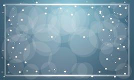 Vetor azul do fundo da venda do Natal ilustração do vetor
