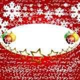 Vetor Backgr do inverno do Natal Foto de Stock