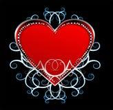 Vetor bonito 3 do coração Fotografia de Stock