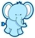 Vetor bonito do elefante Foto de Stock