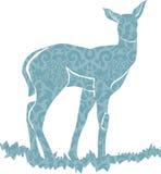 Vetor Buck Deer ilustração stock