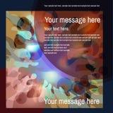 Vetor colorido abstrato fundo manchado Foto de Stock Royalty Free