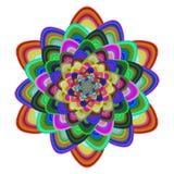 Vetor colorido do design floral Fotos de Stock