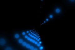 Vetor com os pontos azuis e pretos pequenos Imagem de Stock Royalty Free