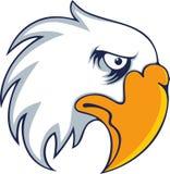 Vetor corajoso do pássaro da águia Imagem de Stock Royalty Free