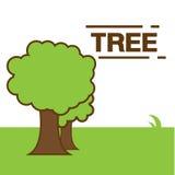 Vetor da árvore Foto de Stock Royalty Free