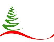 Vetor da árvore de Natal Fotografia de Stock Royalty Free