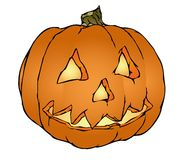 Vetor da abóbora de Halloween ilustração royalty free