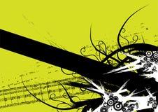 Vetor da bandeira de Grunge Imagens de Stock
