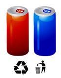 Vetor da bebida da energia Imagem de Stock Royalty Free