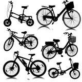 Vetor da bicicleta da bicicleta Fotos de Stock Royalty Free