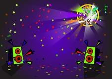 Vetor da bola do disco Fotografia de Stock
