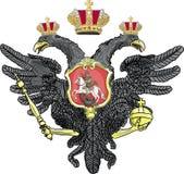 Vetor da brasão do russo Imagem de Stock Royalty Free