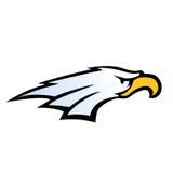 Vetor da cabeça da águia do estilo da equipe de esporte Foto de Stock